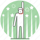 christmas, concept, new year, new you, people icon