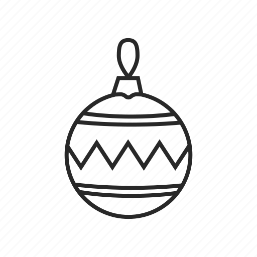 christmas, decoration, holiday, new, winter, year icon