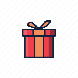 christmas, gift, giving, holiday, present, winter icon