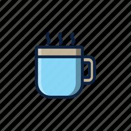 christmas, coffee, cup, drink, hot, mug, winter icon