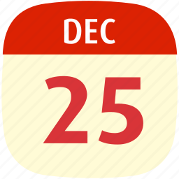 calendar, christmas, date, event, time icon