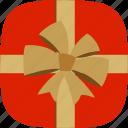 christmas, gift, ribbon, surprise, present, xmas