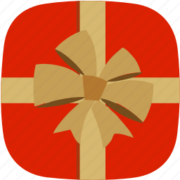 christmas, free, gift, ribbon, surprise icon