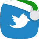 christmas, elf, media, social, twitter icon