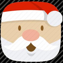 christmas, claus, father, kris-kringle, santa icon