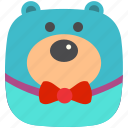 bear, hug, play, teddy, toy icon