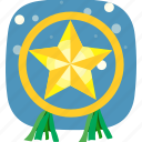 christmas, favorite, lantern, parol, star, xmas icon