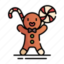 baked, bakery, christmas, cookies, ginger, gingerbread, xmas icon