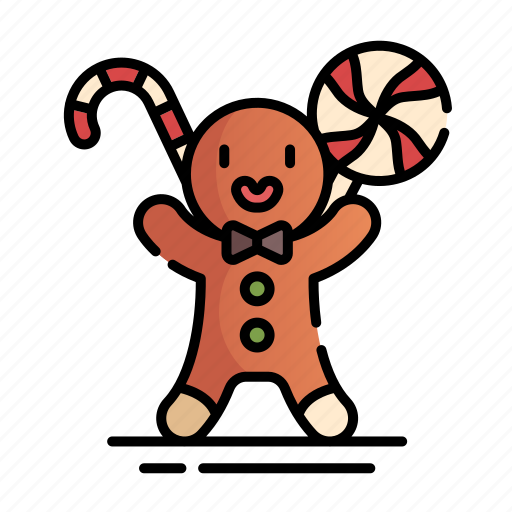 Baked, bakery, christmas, cookies, ginger, gingerbread, xmas icon - Download on Iconfinder