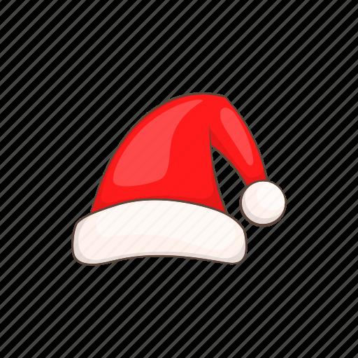 cartoon, claus, hat, red, santa, season, style icon