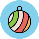 bauble, bauble ball, christmas bauble, christmas decoration, christmas ornaments icon
