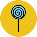candy stick, confectionery, lollipop, lolly, sweet, sweet snack icon