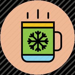 beverage, coffee mug, hot coffee, hot drink, hot tea, tea mug icon