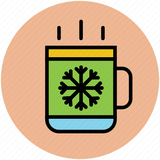beverage, coffee mug, hot coffee, hot drink, hot tea, tea mug icon