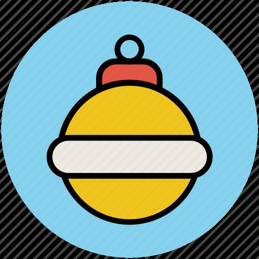 bauble, bauble ball, christmas bauble, christmas decoration, christmas ornaments icon