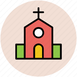 cathedral, chapel, christianity, church, religious place, temple icon