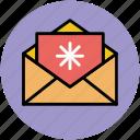 christmas card, christmas greeting, envelope, greeting card, wishing card icon