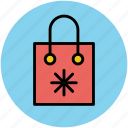 paper bag, shopper bag, shopping bag, supermarket bag, tote bag icon