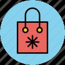 paper bag, shopper bag, shopping bag, supermarket bag, tote bag icon
