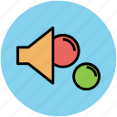 balls, food funnel, food pouring, funnel, kitchen tool icon
