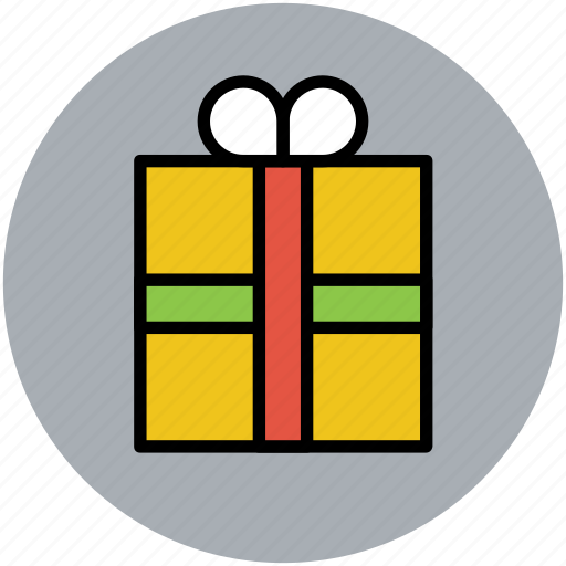 christmas gift, gift, gift box, present, present box, wrapped gift icon