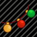 christmas, decoration, garland, new year, xmas