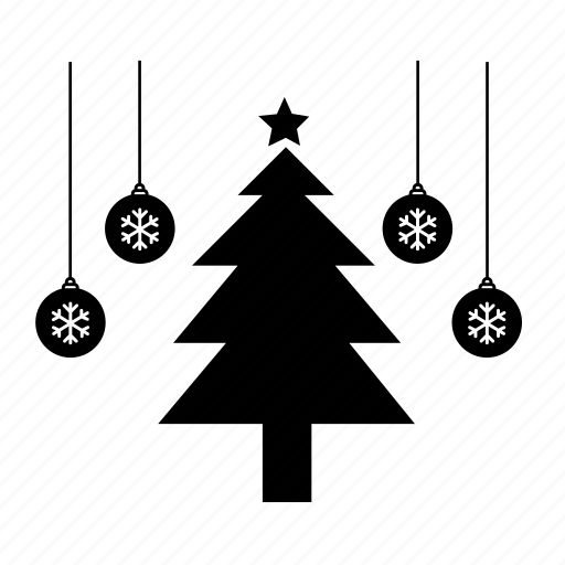 christmas, christmas decoration, christmas tree, holiday, pine, pine tree, tree icon