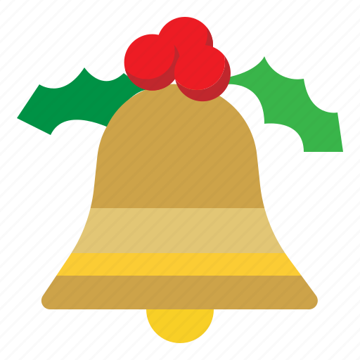 bell, christmas, holiday, xmas icon