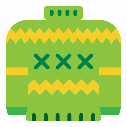 Christmas, holiday, sweater, winter icon - Download on Iconfinder