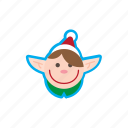 christmas, elf, holidays, ice, santa, snow, xmas icon