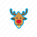 christmas, deer, holidays, reindeer, winter, xmas