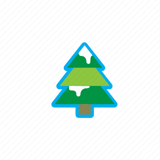 christmas, christmas tree, gift, holidays, ice, snow, xmas icon