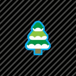 christmas, christmas tree, gift, holidays, ice, snow, xmas icon