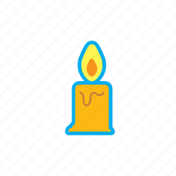 bell, candle, christmas, decoration, gift, holidays icon