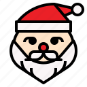 christmas, claus, present, santa icon