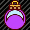 ball, christmas, ornament, tree icon