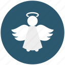 angel, christmas, peace, wings, xmas icon