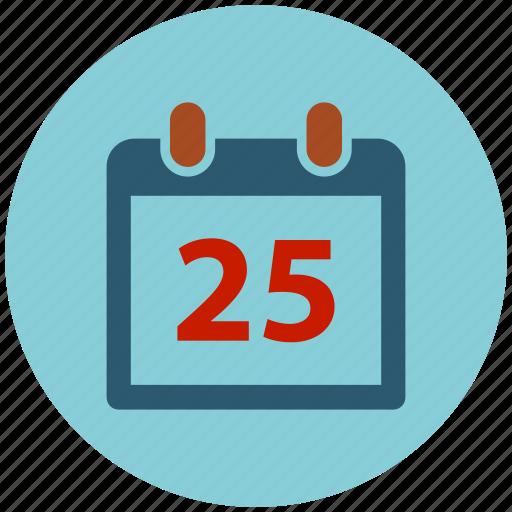 calendar, christmas, date, schedule, xmas icon