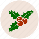 christmas mistletoe, decoration, mistletoe, ornament, xmas icon