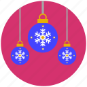 ball, baubles, christmas, decoration, lantern icon