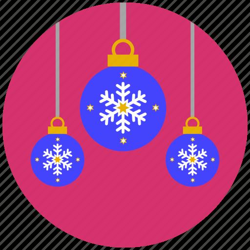 ball, baubles, christmas, decoration, lantern icon