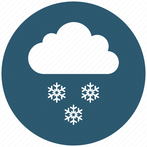 cloud, cold, sky, snowflake, weather, winter icon