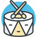 childrens drum, drum, hand drum, musical instruments, percussion icon