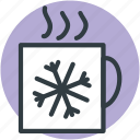 coffee mug, hot drink, hot tea, mug, tea mug icon