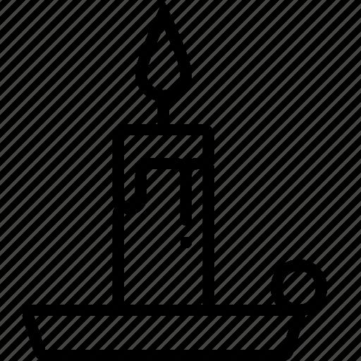 burning, candle, christmas, decoration, flame, light, xmas icon