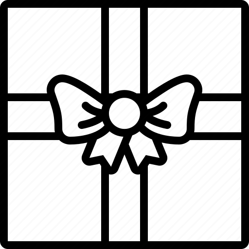 birthday, christmas, gift wrap, gifts, holiday, presents, xmas icon