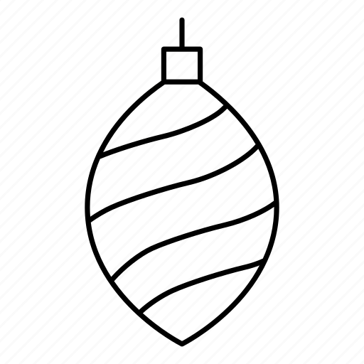 christmas, christmas cone, christmas decoration, cone, decoration icon