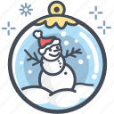 christmas, holiday, santa hat, snow, snow man, xmas icon