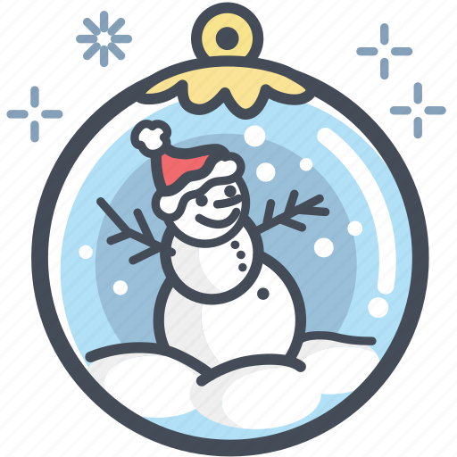 Christmas, holiday, snow, snow man, xmas, santa hat icon - Download on Iconfinder