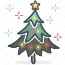 christmas, decoration, holiday, holidays, tree, x-mas, xmas icon
